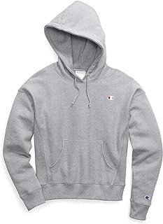 Champion LIFE Womens GF757 Reverse Weave Pullover Hood Hooded Sweatshirt