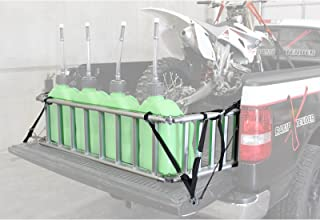 Extreme Max (NR002S-SLVR) Motorcycle RampXtender Aluminum Ramp Set and Tailgate Extender Combo