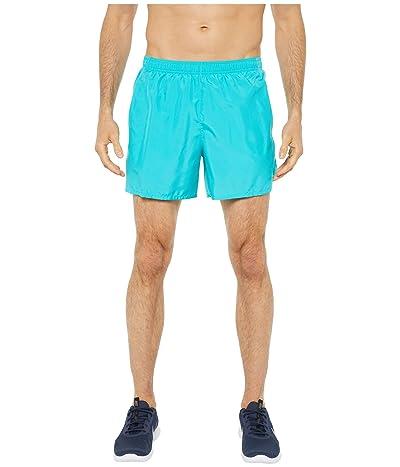 Nike Challenger Shorts 5 BF (Oracle Aqua/Oracle Aqua/Reflective Silver) Men