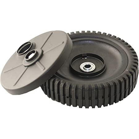 Husqvarna Craftsman 532150341 Rear  Lawn Mower Wheel Genuine USED Good Hub Tread