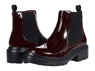 Blondo Cayla Waterproof Bootie (Burgundy Patent) Women