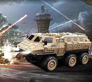 RC Military Truck, RC Army Trucks, 120 Min Play 6WD 1/16 Scale RC Army Car, 2.4 GHz Remote Control High Speed Army Car, Al...