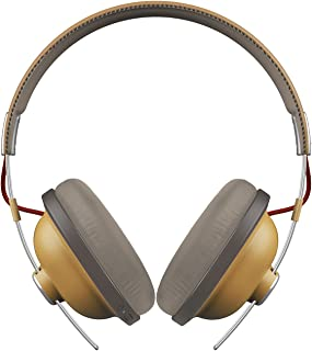 Panasonic RP-HTX80BE-C Retro Modern Style Headphone, Cream