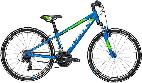 Kinder Fahrrad 24 Zoll blau - Bulls Jugend Bike Tokee - Shimano Kettenschaltung, Suntour Federgabel