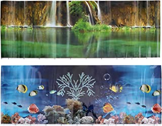 Penn-Plax Bruce Aquarium Background 20-Gallon