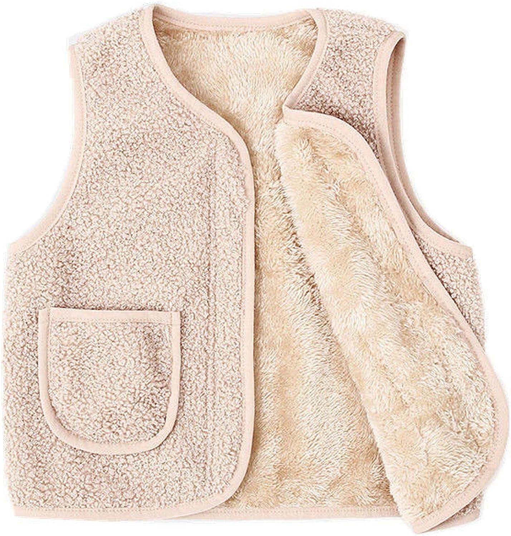 Autumn Max 76% OFF Winter Baby Kids Warm Velvet Girls Boys Vest Ranking TOP5 Cartoon Coat