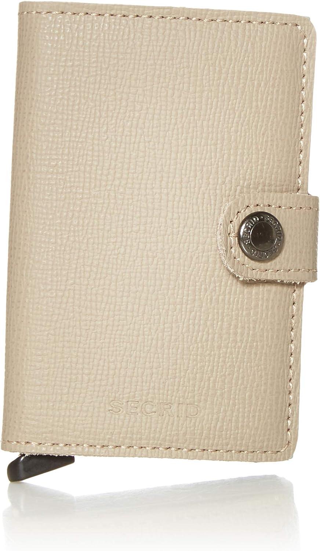 Secrid Mini Wallet Cheap sale Genuine Leather Safe Crisple Camo RFID Taupe Ranking TOP6