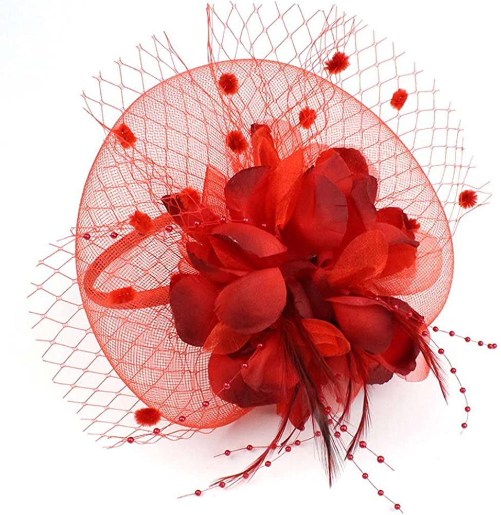 Max 67% OFF Auranso Derby Netting Mesh Sale Special Price Headband Women Hair Flowers Band Big