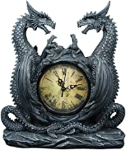 Dragon Clock - Medieval-Style Handpainted Resin Timepiece Figure 11