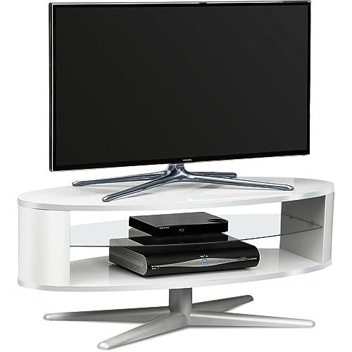 the latest c750b e8b2f White Gloss Corner TV Units: Amazon.co.uk