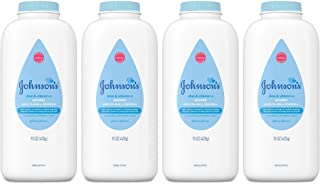 Johnson'S Baby Powder With Aloe & Vitamin E Pure Cornstarch- 15 Oz