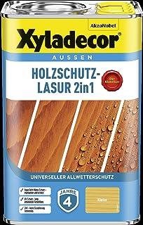 Xyladecor Houtbeschermingsbeits 4 l buiten impregnatie houtbeschermingsmiddel (grenen)