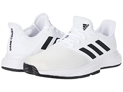 adidas GameCourt (Footwear White/Core Black/Grey One) Men