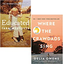 Educated Tara Westover, Where the Crawdads Sing [Hardcover] 2 Books Collection Set