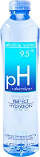 Perfect Hydration Alkaline Water, 9.5+ pH (1 Liter - 12 Pack) | Ultra Purified, Electrolyte Enhanced Drinking Water