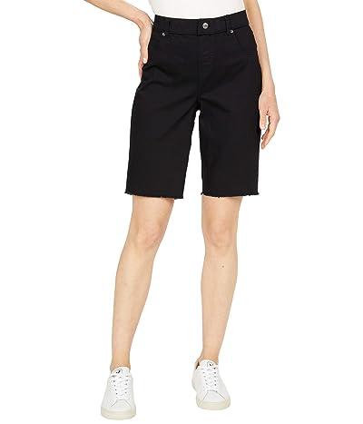 HUE Ultra Soft Denim High-Rise Bermuda Shorts Women