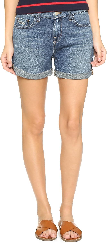 J Brand Womens Joey Low Rise Cut Off Denim Shorts bluee 28
