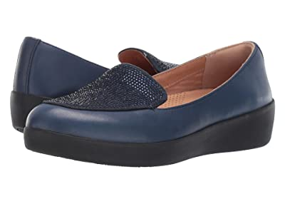 FitFlop Crystal Sneakerloafer (Midnight Navy) Women