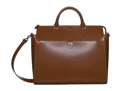 Lodis Accessories Audrey Under Lock Key Kara Work Tote (Sequoia) Handbags