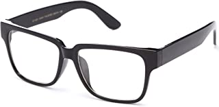 IG Unisex Thick Frame Quality Build Clear Lens Fashion Glasses