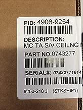 SIMPLEX 4906-9254 - S/V Addressable Multi-Candela Ceiling MT (White)