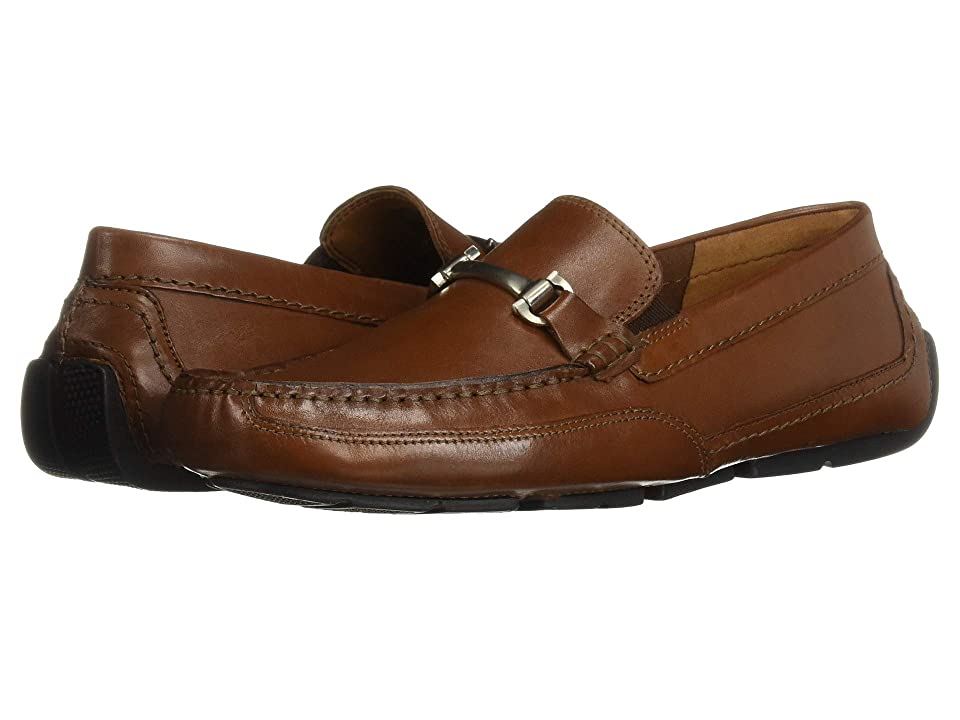Clarks Ashmont Brace (Cognac Leather) Men