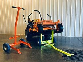 Ballard Inc Super Jack Pro - Mower Jack- ZTR, Stander, Walk Behinds (High Vis Green)