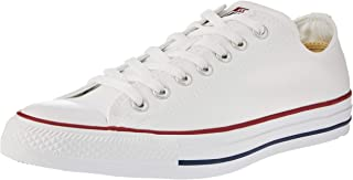 Converse Chuck Taylor All Star Sneakers Unisex, Optical White : 6.5 US Men / 8.5 US Women
