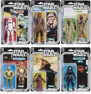 Star Wars The Black Series 40th Anniversary 6 Inch Figures WAVE 2 SET
