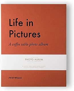 Photo Album - Life in Pictures Orange