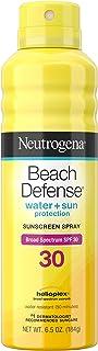 Sponsored Ad - Neutrogena Beach Defense Water-Resistant Sunscreen Body Spray with Broad Spectrum SPF 30, PABA-Free, Oxyben...