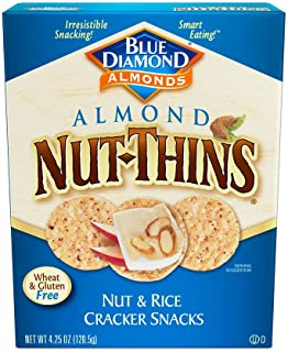 Blue Diamond Almond Cracker Crisps, Original Almond, 4.25 oz