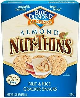 Blue Diamond Almond Nut Thins Cracker Crisps, Original Almond, 4.25 Ounce