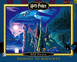 New York Puzzle Company - Harry Potter Journey to Hogwarts - 500 Piece Jigsaw Puzzle