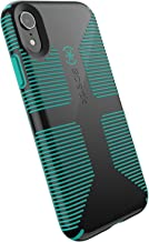 Speck Products CandyShell Grip iPhone XR Case, Black/Oasis Green
