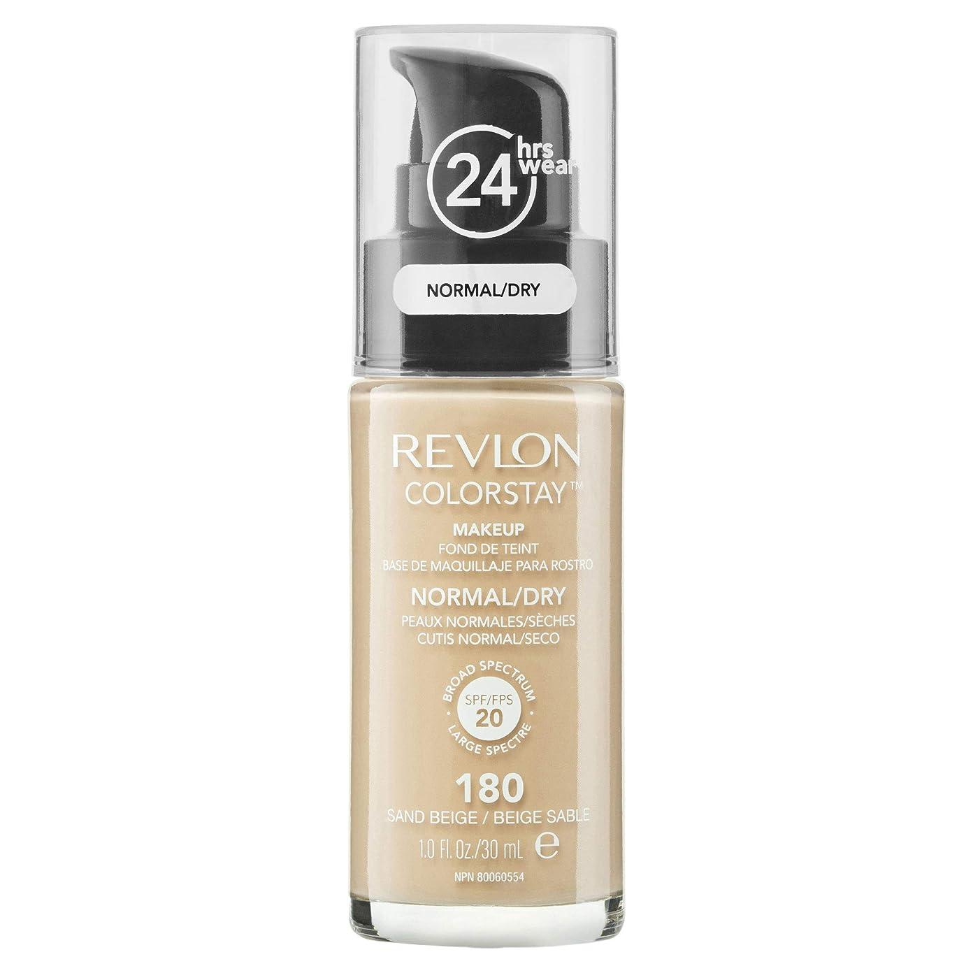 メディア天才胆嚢(180 Sand Beige) - Revlon Colorstay 24 Hours Makeup Foundation With Pump 30ml Please Choose Shade