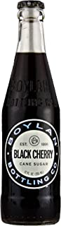 Boylan Cane Sugar Black Cherry Soda 12 oz. (24 Bottles)