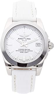 Breitling Galactic Quartz (Battery) Mother of Pearl Dial Womens Watch W7433012/A779 (Certified Pre-Owned)