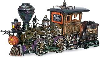Department 56 Snow Village Halloween Accessories Haunted Rails Engine and Coal Car Lit Figurine, 4.75, Multicolor