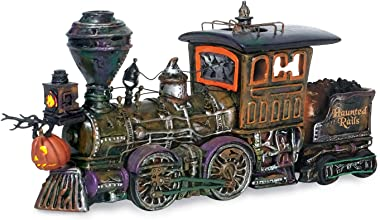 Department 56 Snow Village Halloween Haunted Rails Engine Accessory Figurine
