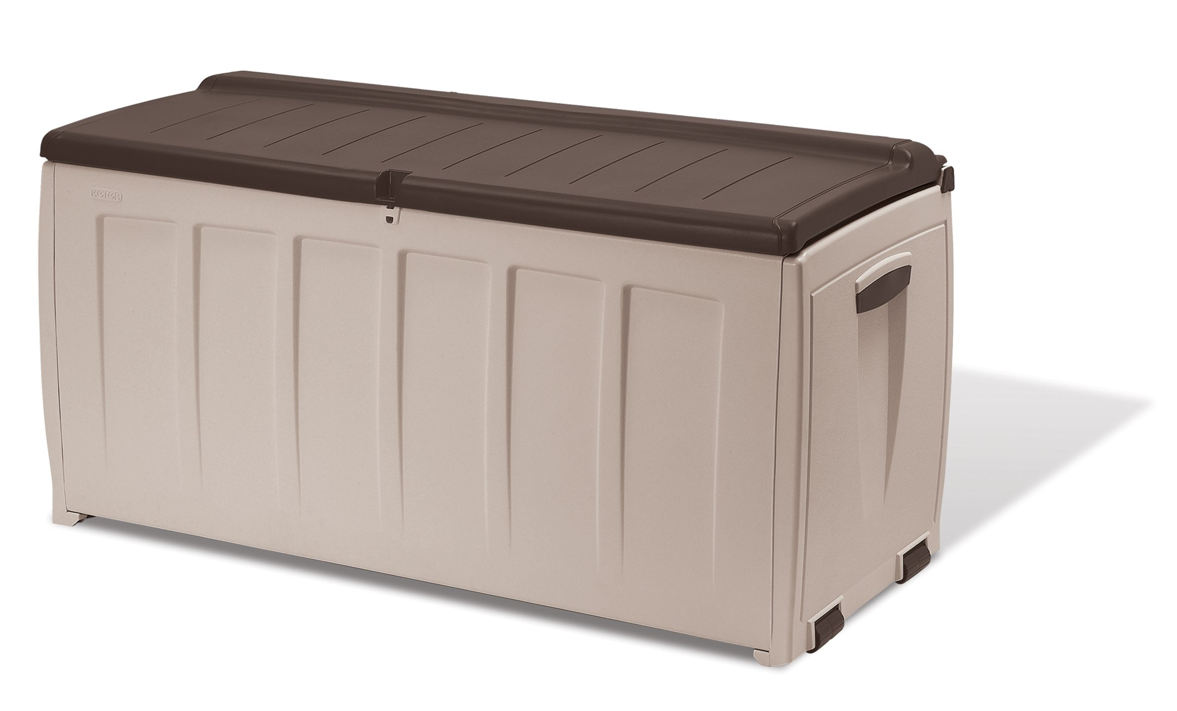 Keter Storage Box - Arcón, Color Beige: Amazon.es: Jardín