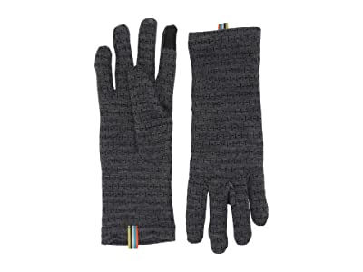 Smartwool Merino 250 Pattern Gloves (Medium Gray Tick Stitch) Extreme Cold Weather Gloves