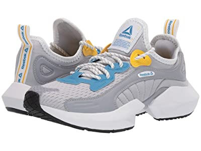 Reebok Sole Fury 00 (Cold Grey 2/Cyan/Toxic Yellow) Athletic Shoes