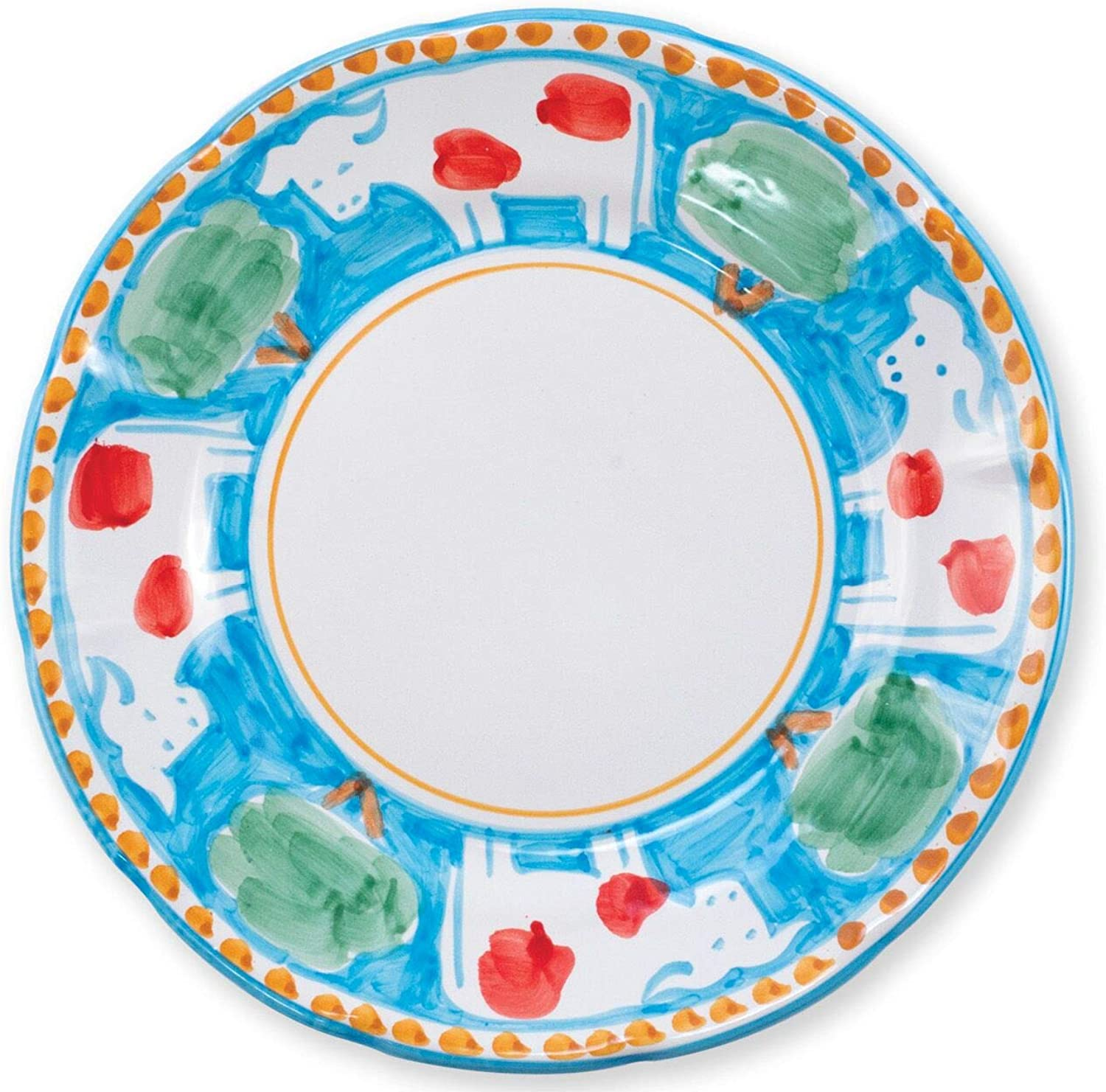 Vietri Mucca Dinner Plate - Campagna Collection