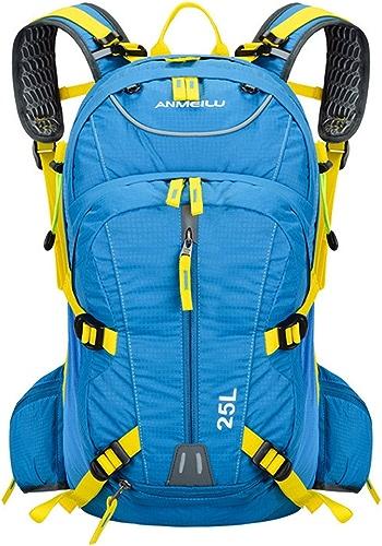 LCPG Alpinisme Sac à Dos épaule Fonction Voyage Monter en Marchant Loisirs Sport Neutre Hommes Et Femmes Convient pour Une Utilisation en Plein Air (Couleur   Bleu)