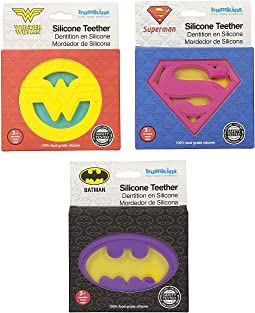 DC Comics Silicone Teether 3-Pack