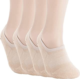 Pro Mountain No Show Socks - Athletic Cushion Cotton Sport Footies