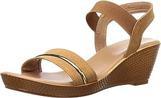 BATA Women's Lille Beige Fashion Sandals-6 (6618915)