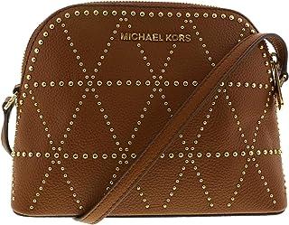866cd6b3185 Michael Kors Women s Adele Medium Dome Leather Crossbody