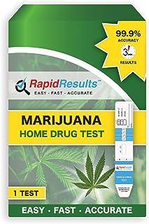 Rapid Results Home Drug Test Kit - Marijuana, 0.21 Lb (Pack of 48)